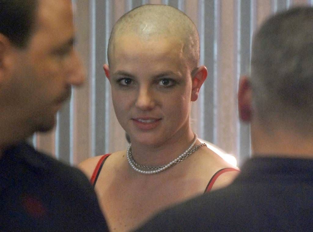 Girls britney head pic shaved