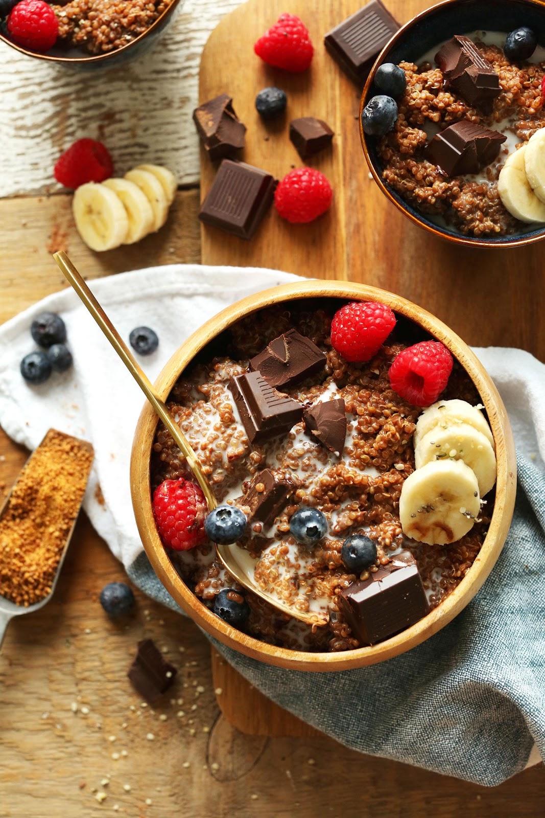 31 desayunos saludables y rápidos para los ocupados